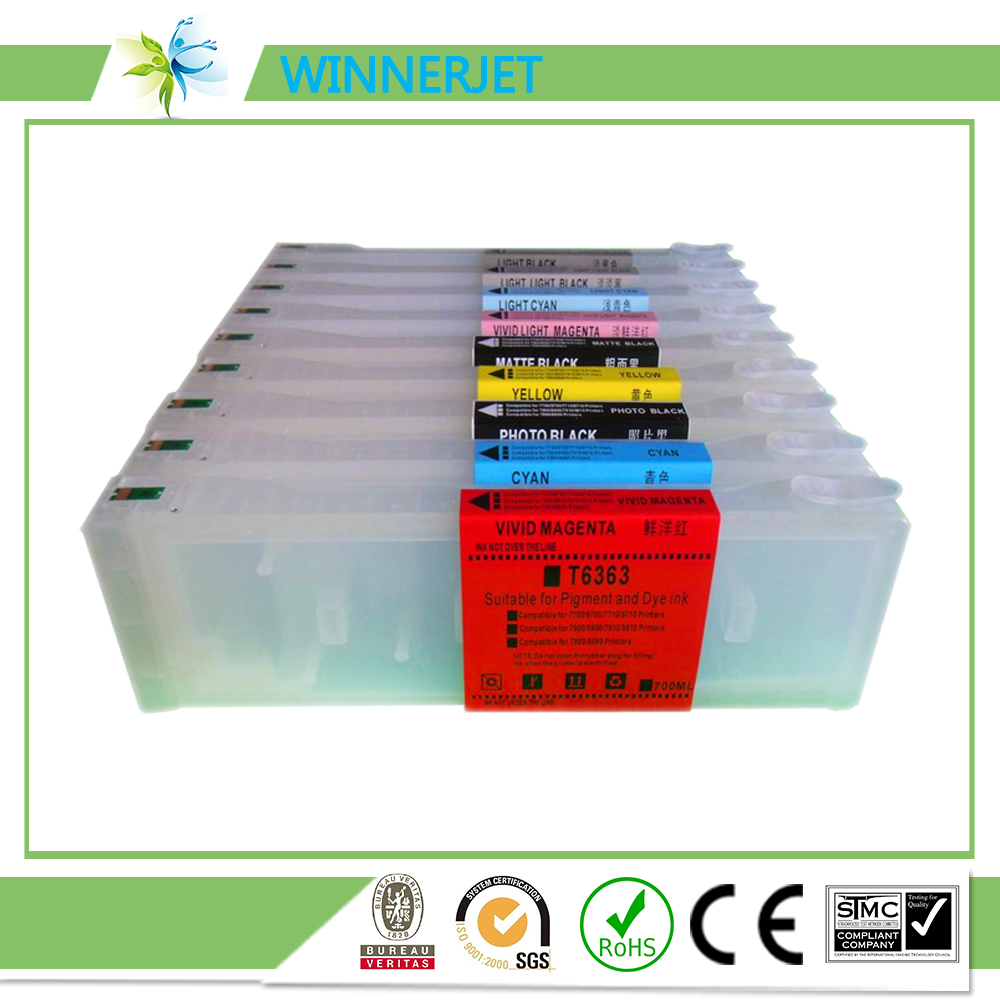 Hot Sales refillable cartridge for Epson 7890 9890 7908 9908 with chip