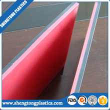 Two layer double color HDPE sheet/ plate/ board