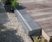Honed Blue Limestone Outdoor Steps Stone Stair Steps