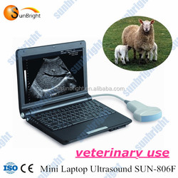 Small portable ultrasound veterinary & ultrasonic sheep pregnancy scanner