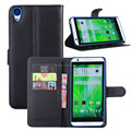 Wallet Style PU Leather Cover 2 Credit Card Stand Flip Case For HTC desire 820