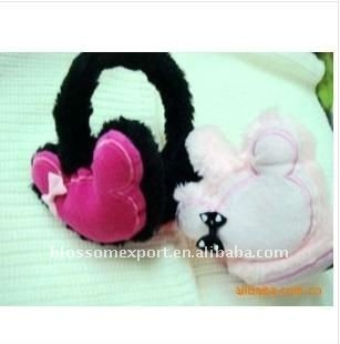 New design baby fur earmuffs