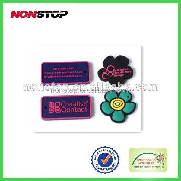 2014 New Style Silicone Labels Tags Garments Accessory