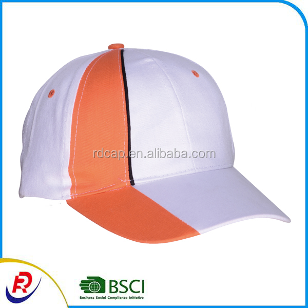 2017 hot sale custom cotton color combinations popular fitted promotional bulk running sports cap hat