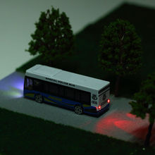 Hot sale architectural scale model bus with light