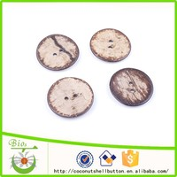54L natural brown color oval shape good quality coconut shell botones for garment button accessory