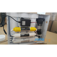 New domestic Taiwan quality good design 6 stages LCD 75gpd reverse osmosis systems