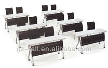best selling multifunctional folding meeting room tables with modesty panel