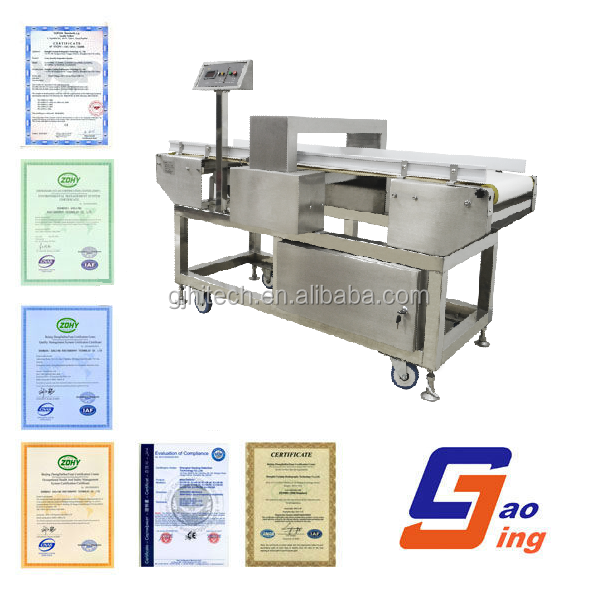 GJ4 metal detector for aluminum packaged products
