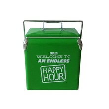 Picnic Ice Fishing Camping Water Beverage Food Insulated Basket Cooler