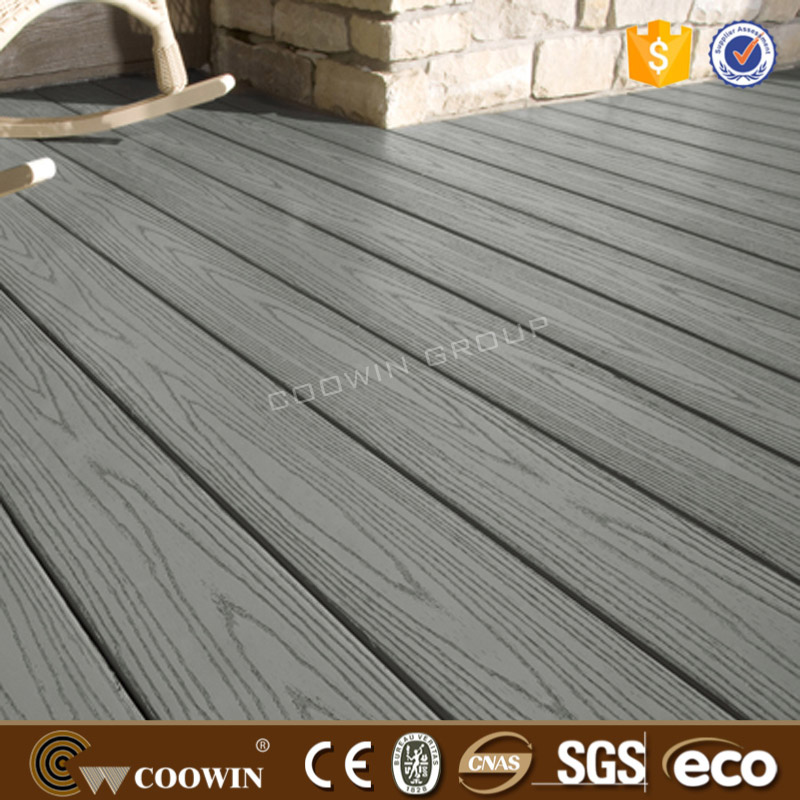 Fashion imitation wood grain fire-resistant WPC flooring