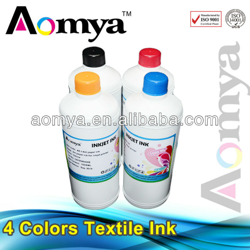 Pigment ink for digital textile printing dtg heat prints transfer Suitalbe for Epson printer