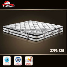 Hot Selling Dreamland Pocket Spring Mattress with Pillow Top