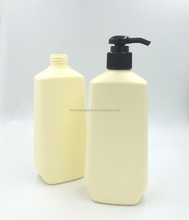 380ml Empty plastics container for shampoo with pump