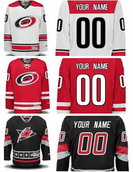 Cheap Men's Carolina Hurricanes #12 Eric Staal Jersey Black White RED Lacing Neck Vintage Sewn authentic Hockey Jerseys