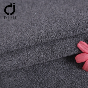Wholesale 2018 hot sale suede organza elmo fleece Polyester fabric