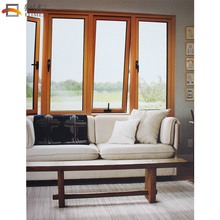 Low profile aluminum frame alloy doors and windows big glass window