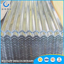 Customized white corrugated roofing sheet for factory use