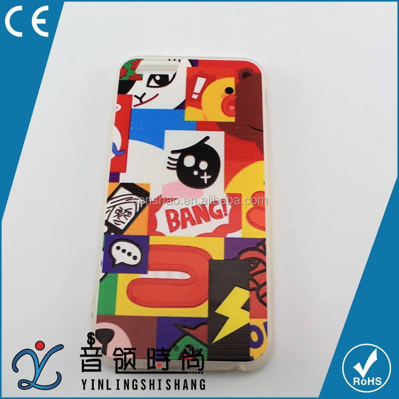 Newest Fashion Cute Colors TPU Phone Cases Back Covers For Apple iphone 6 Case 4.7 inch For iphone 4 5 6 Case