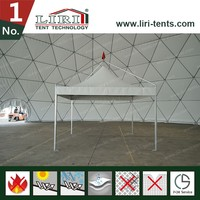 3*3m small gazebo canopy for trade show booth supply