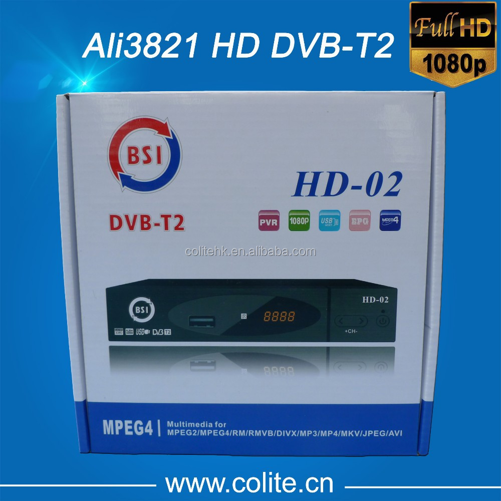 MPEG4 H.264 DVB-T2 Receiver for Vietnam and Russia, Good Quality! Good Services, Good Price!