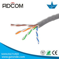 UTP/FTP/STP/SFTP Cat 5e Lan Cable for Ethernet