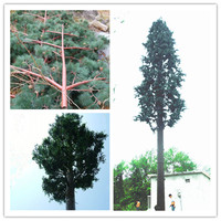 Artificial Steel Communication Pine Tree Tower / Pine tree tower for telecommunication