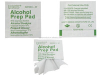 Disposable Alcohol prep pad L 07