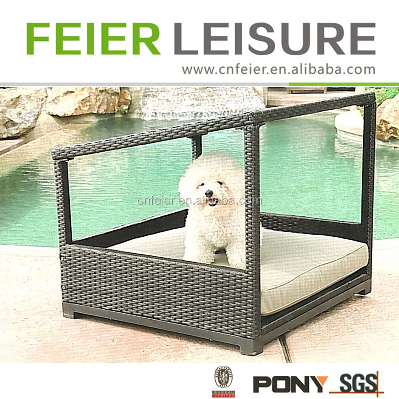 Hot sale wicker dog kennel