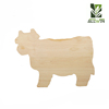New design animal shaped cutting board wood household product kitchenwares funny cow cutting boards