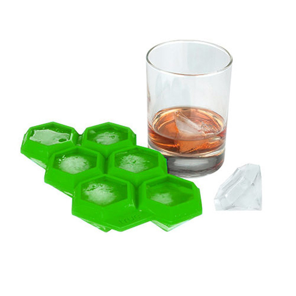 High Quality BPA Free And FDA Approval Silicone Ice Diamond Ice Making Molds
