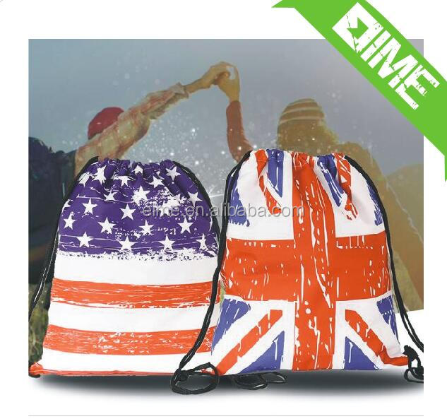 Wholesale Shopping Cinch Sack Pull String Bag