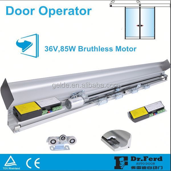 ES200 automatic glass sliding door