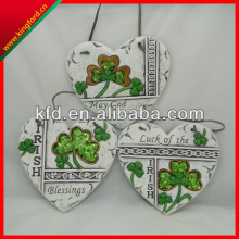 2014 new design Saint Patrick's day Wall hanging crafts