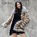CX-G-A-244 OEM Service Natural Women Real Fox Fur Coat For Sale