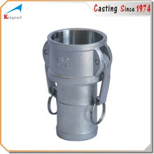 Casting of cast aluminum pipe clamp