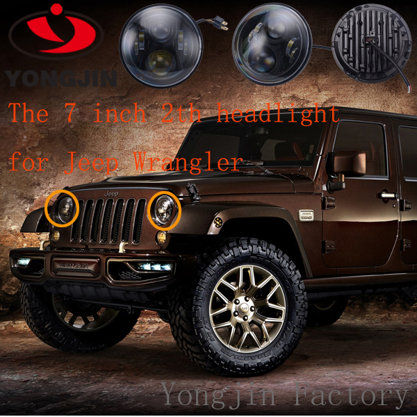 Powerful and Magical LED headlamp 7 inch 65w Dragon editionfor your JEEP !YOU'RE WORTH IT !!