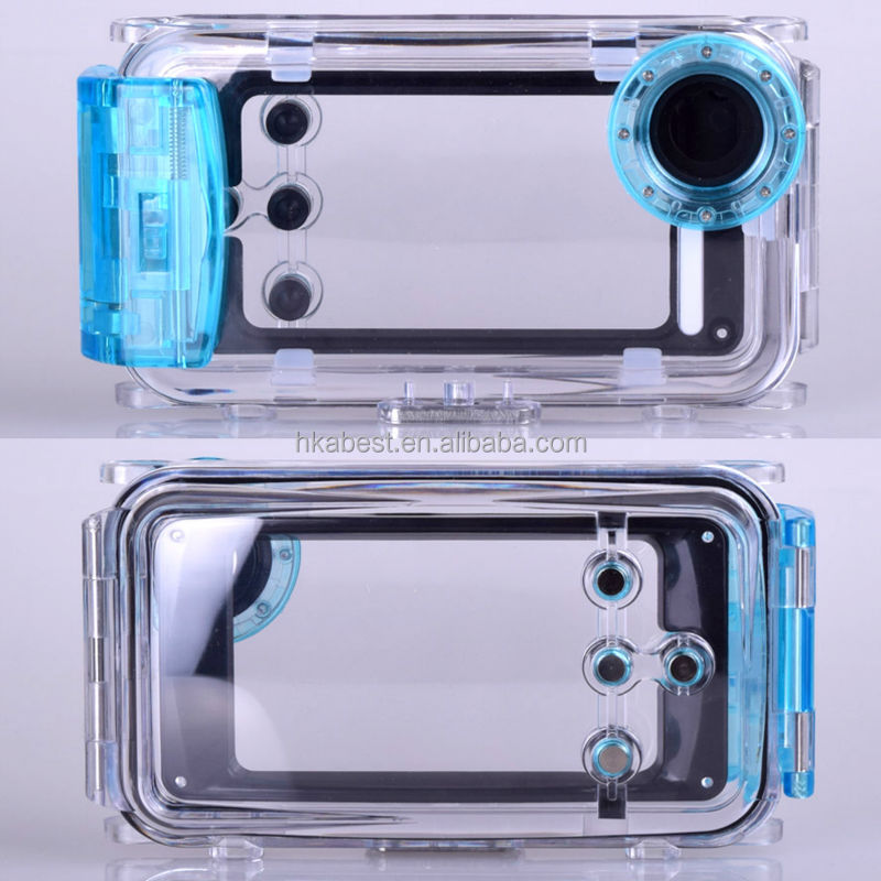 5 COLOR Phone Waterproof Durable PVC Waterproof Bag Underwater Case For iPhone 5S Travel Transparent Pouch Diving Case