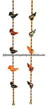 FAIR TRADE STRING OF BIRDS HANGING TRADITIONAL INDIAN/ETHNIC