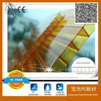 New Design Awning Polycarbonate With CE Certificate