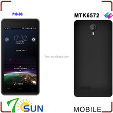 P10 Smartphone Android 4.2 MTK6572 4.5 Inch Screen Dual SIM WIFI 3G GSM no brand smart phone
