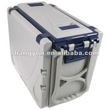 18.6L new trolley type folding cooler table box