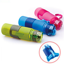 BPA Free Folding Silicone Drinking Canteen Leak Proof Flexible Good Water Bottles