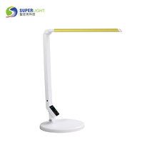 folding Color Temperature LED Desk Lamp With USB Charging Port