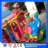 Outdoor amusement children rides small merry go round elephant train