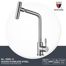 top selling unique design single handle kitchen sink faucets stainless steel