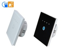 Touch Screen Timer Wall Light <strong>Switch</strong> 1 Gang 1 Way/2 Way for Smart Home Automation Giant JJ-TSA-01