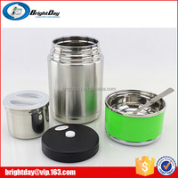 Eco-Friendly Wholesale Promotional Food Grade Compartment Eco Collapsible Lunch Box