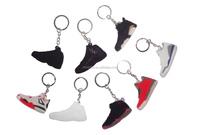 2016 cheap air nike jordans sneakers shoes kerings men's air jordan basketball shoes keychains custom 3d air jordan keychains