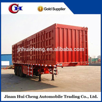 Heavy Duty Box Semi Trailer /Van Cargo Truck